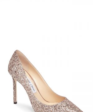 Women's Jimmy Choo Romy Glitter Pump