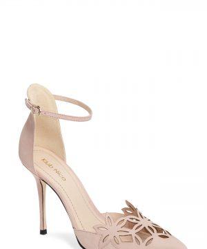 Women's Klub Nico 'Romea' Pointy Toe Pump, Size 9 M - Pink