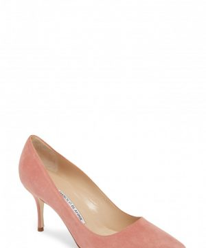 Women's Manolo Blahnik Bb Pump, Size 8US / 38EU - Pink