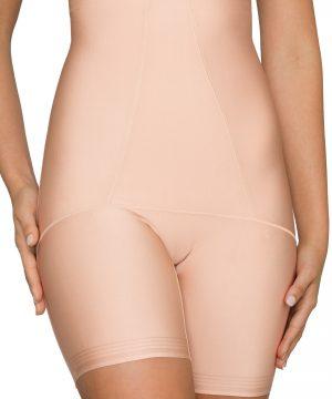 Women's Nancy Ganz Body Architect High Waist Shaper Shorts, Size Medium - Beige