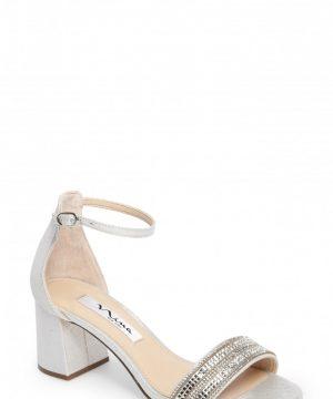 Women's Nina Elenora Sandal, Size 11 M - Metallic
