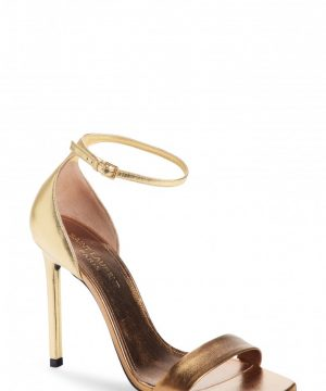 Women's Saint Laurent Amber Ankle Strap Sandal
