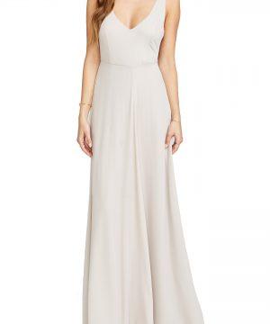 Women's Show Me Your Mumu Jen Maxi Gown, Size X-Large - Beige