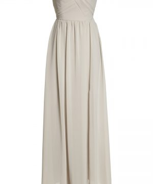 Women's Social Bridesmaids Strapless Georgette Gown
