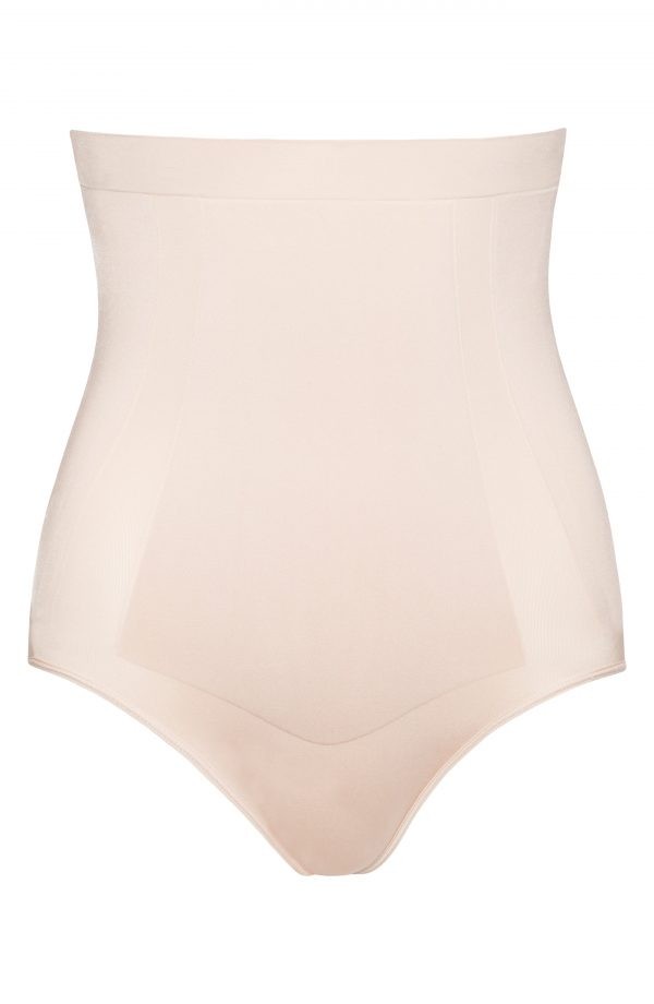Women's Spanx Oncore High Waist Shaping Briefs, Size X-Large - Beige