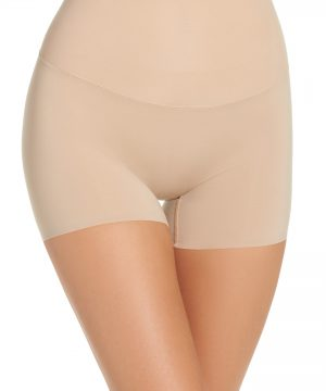 Women's Spanx Shape My Day Girl Shorts, Size Small - Beige