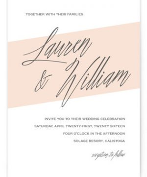 Almost There Wedding Invitations