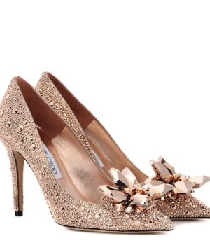 Avril 100 embellished pumps