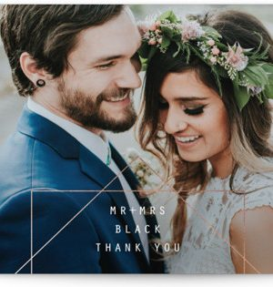 BOLD AS LOVE Wedding Invitations