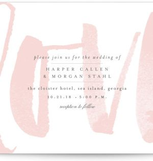 Bare Love Wedding Invitations