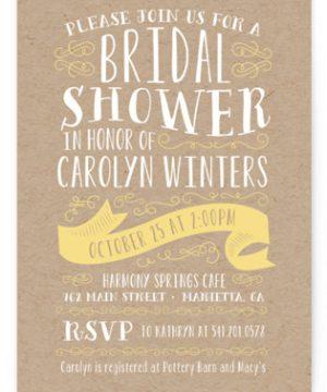 Delightful Bridal Shower Invitations