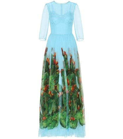 Exclusive to mytheresa.com - printed silk dress
