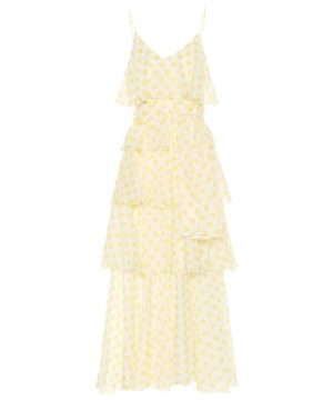Imann polka-dot cotton dress