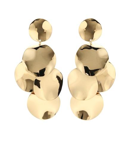 Jeanotte Circle drop earrings