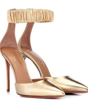 Liberty 105 metallic leather pumps