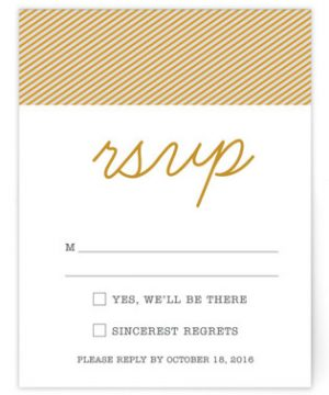 Polaroid Perfection Print-It-Yourself Wedding RSVP Cards
