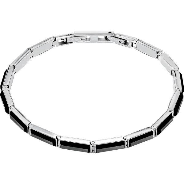 Swarovski Govern Bracelet, Black, Stainless steel