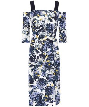 Verena floral-printed dress