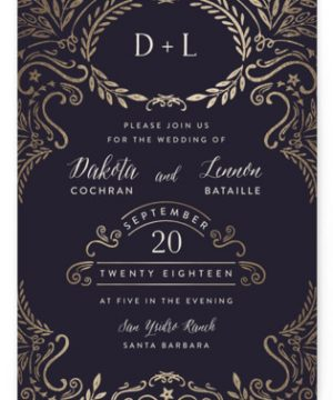 Wedding Enchantment Wedding Invitations
