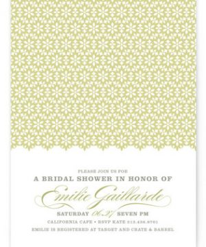 ella gant Bridal Shower Invitations