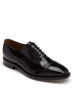 Men's Johnston & Murphy 'Melton' Oxford, Size 10 C - Black