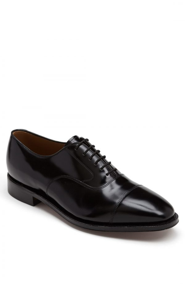 Men's Johnston & Murphy 'Melton' Oxford, Size 10 C - Black