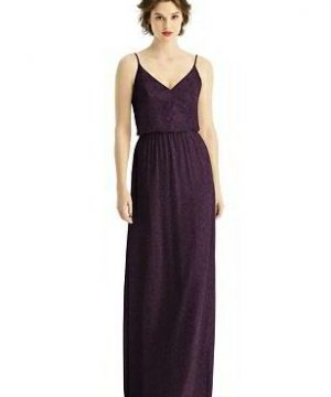 Special Order After Six Shimmer Bridesmaid Dress 1506LS