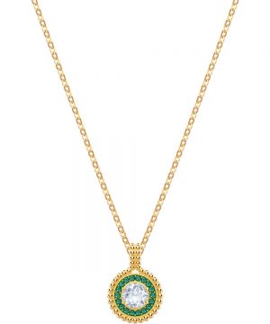 Swarovski Oxygen Pendant, Multi-colored, Gold plating