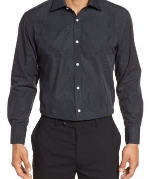 Men's English Laundry Regular Fit Check Dress Shirt