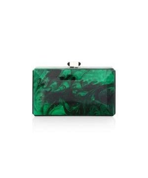 Rectangle Crystal Clutch