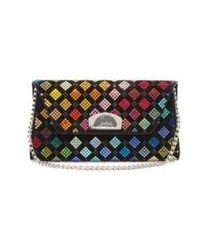 Vero Dodat Leather Convertible Clutch