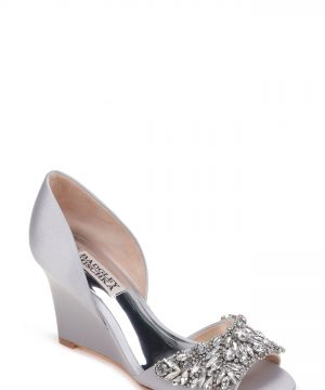 Women's Badgley Mischka Hardy Embellished Wedge