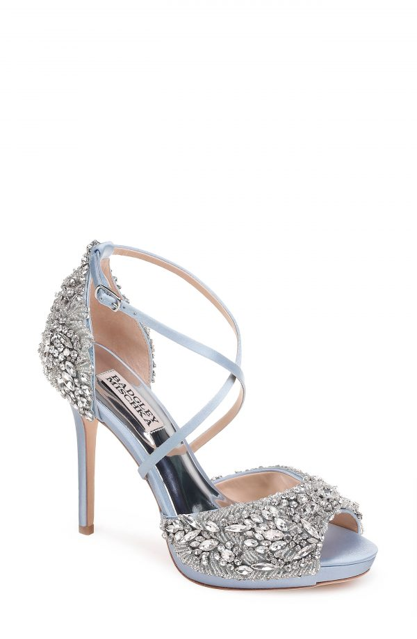 Women's Badgley Mischka Hyper Crystal Embellished Sandal