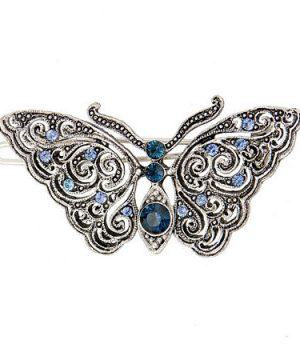 1928 Vintage Inspirations Hair Clip, One Size , Blue