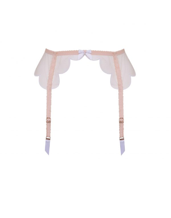 Agent Provocateur Lorna Suspender In Nude And White