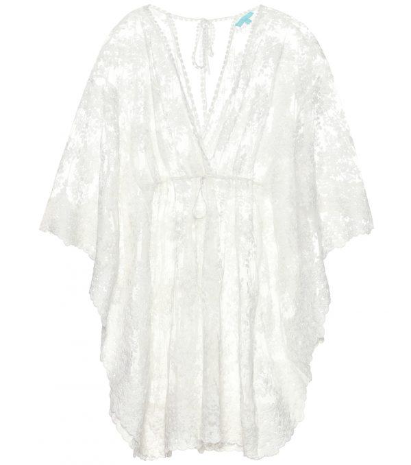 Amara cotton-blend dress