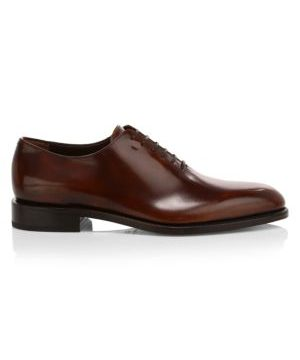 Angiolo Lace-Up Leather Dress Shoes