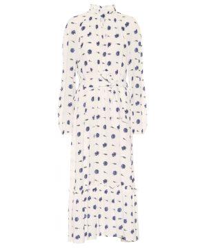 Antoinette floral maxi dress