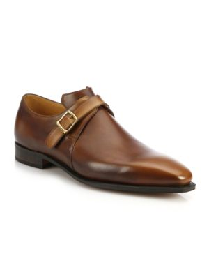 Arca Buckle Pullman French Leather Dress Shoes