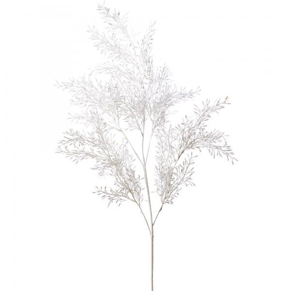 "Artificial Fern 35"" - 24 Pieces - White"
