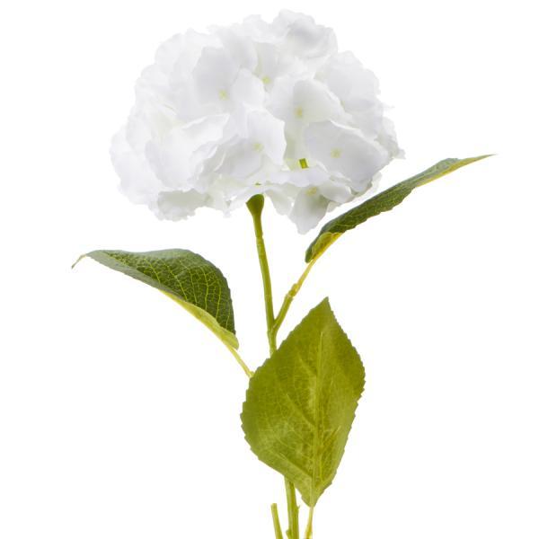 "Artificial Hydrangea Stem 28½"" - White - 36 Stems"