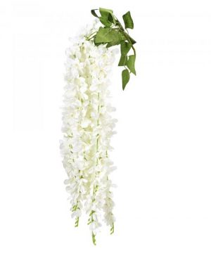 "Artificial Jasmine Flower 35"" - 36 Pieces - White"