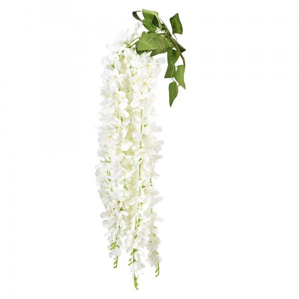 """Artificial Jasmine Flower 35"""" - 36 Pieces - White"""