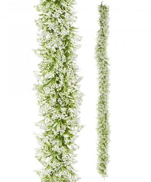 """Artificial Mixed Greenery Garland - Style C - 62"""" Long - 24 Pieces"""