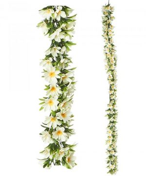 "Artificial Mixed Greenery Garland - Style D - 62"" Long - 24 Pieces"