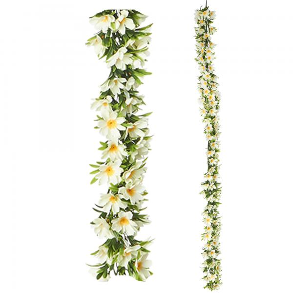 """Artificial Mixed Greenery Garland - Style D - 62"""" Long - 24 Pieces"""