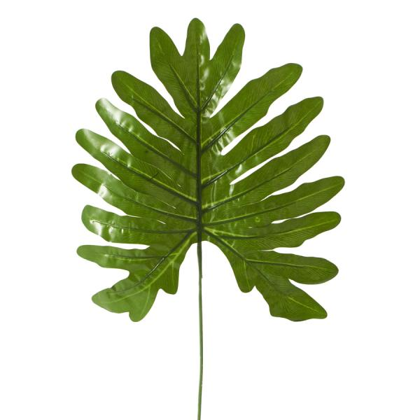 """Artificial Monstera Type Leaves - 13"""" x 25"""" - 48 Leaves -Light Green"""