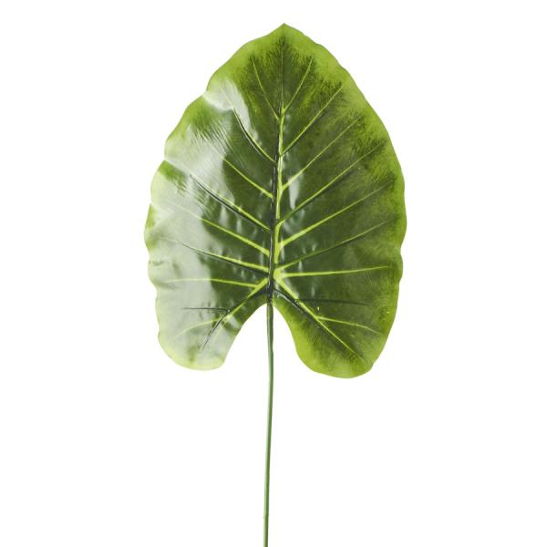"""Artificial Monstera Type Leaves - 9"""" x 24"""" - 48 Leaves - Green"""