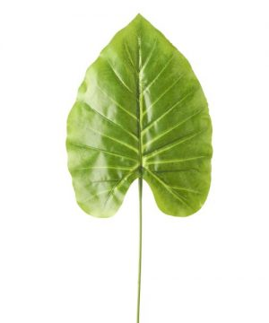 """Artificial Monstera Type Leaves - 9"""" x 24"""" - 48 Leaves -Light Green"""