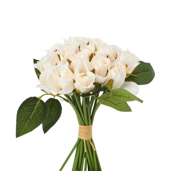 Artificial Rose Bud - 480 Individual Roses! - White